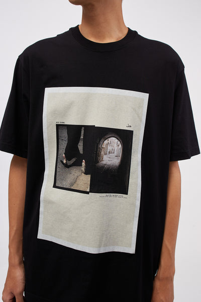 Tunnel Oversized Tee Black
