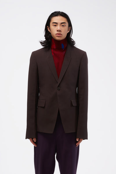 Rick Owens - 73cm Soft Dark Dust Blazer