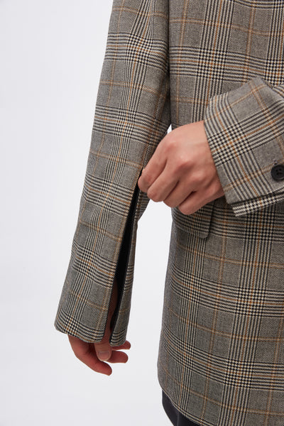 Unstructured SB Blazer Prince of Wales Check