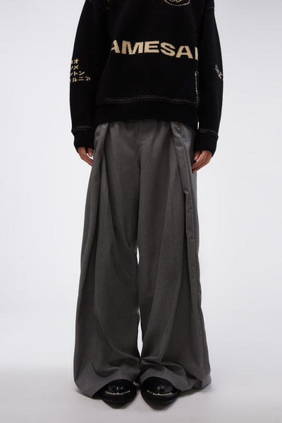 Martine Rose x Farah - Verboten Trouser Charcoal Grey