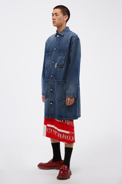 Wit Coat In Denim Blue