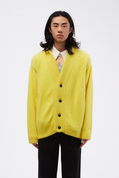 NAMACHEKO - Lumley Cardigan Yellow