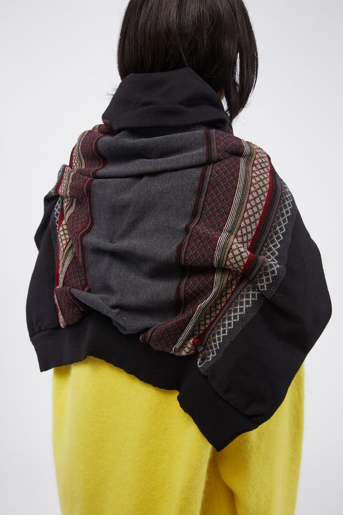 Marquee A Crew Scarf Charcoal Grey