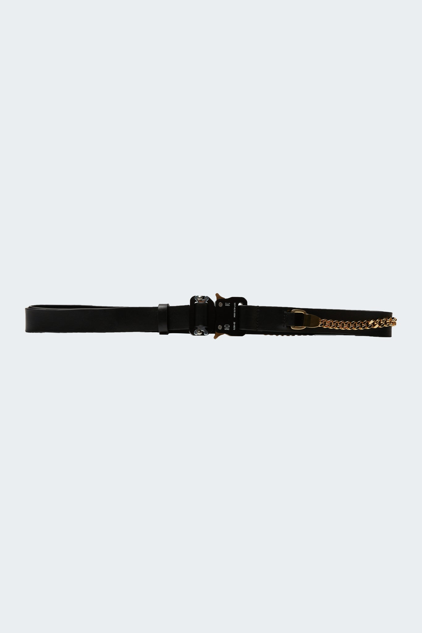 Signature Fixed Chain Rollercoaster Belt Black