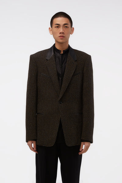 Lemaire - Rockabilly Suiting Jacket Dark Olive