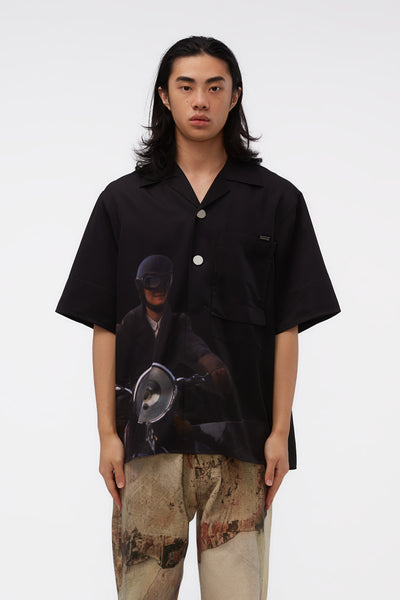WOOYOUNGMI - Orlando Edition S/s Shirt Black