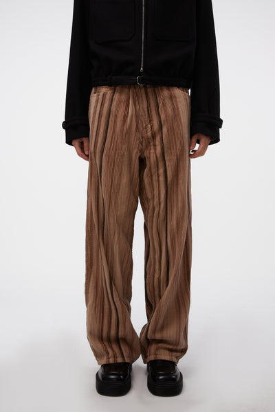 Our Legacy - Vast Cut Hair Stripe Cord Pants