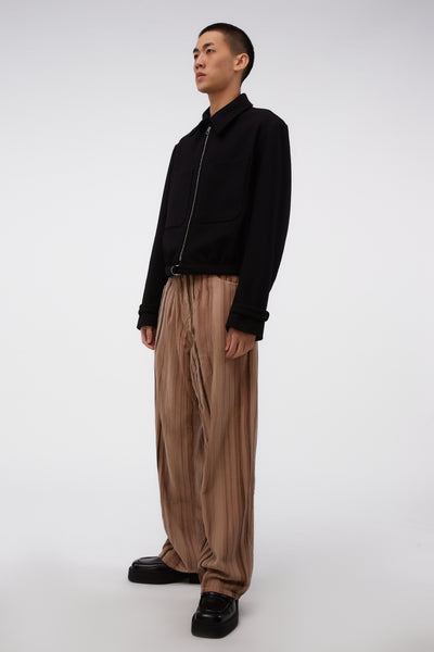 Vast Cut Hair Stripe Cord Pants