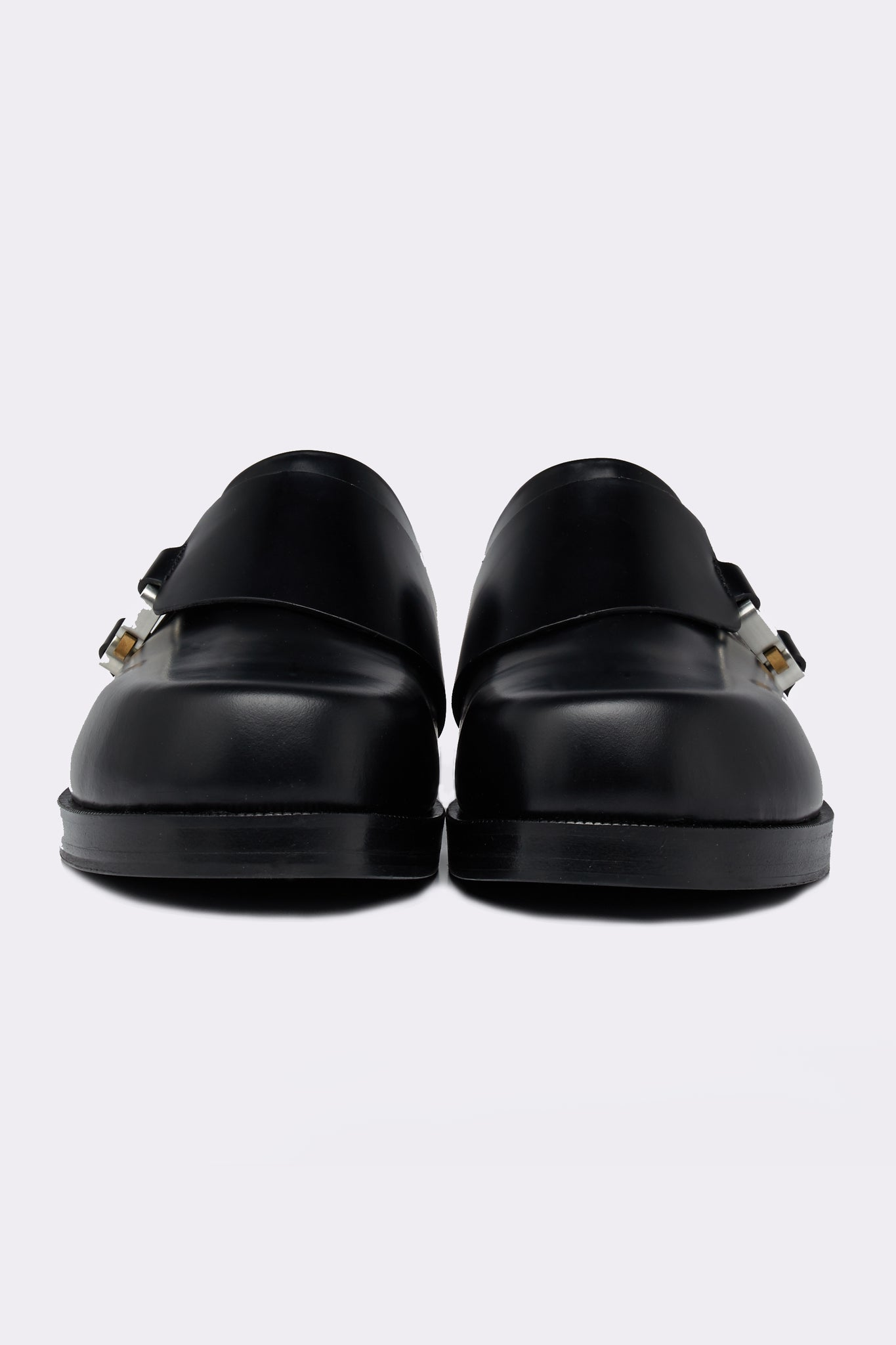 Formal Clog W/ Buckle Black