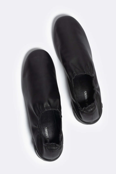 Solaris-1 Low Leather Black