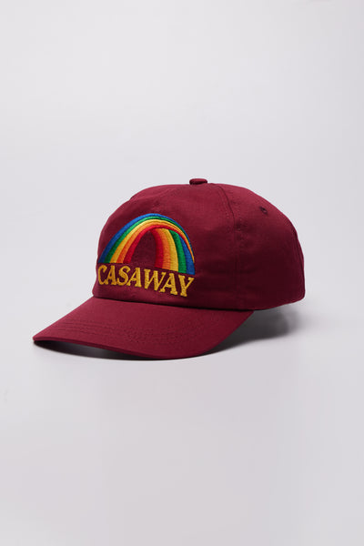 Casaway Embroidered Cap Red