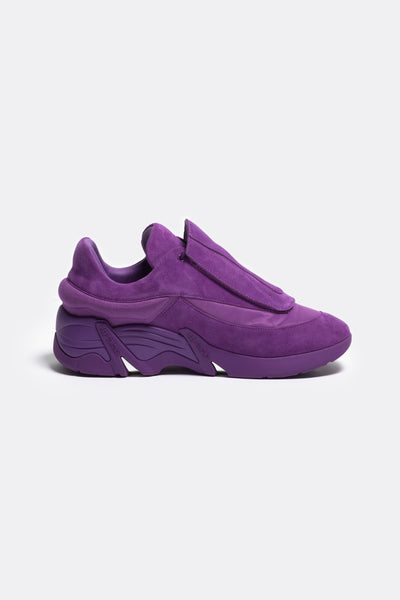 RAF SIMONS (RUNNER) - Antei Leather Purple Suede