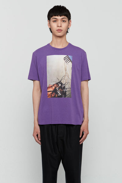 Undercover - Graphic Printed Tee Purple