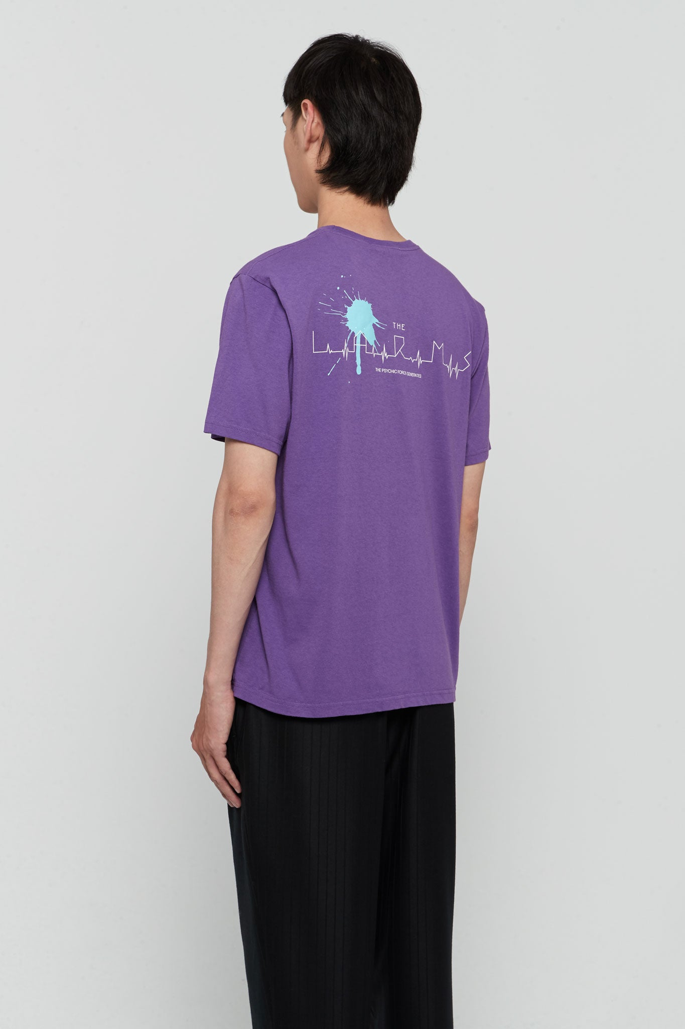 Graphic Printed Tee Purple