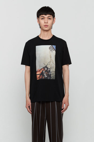 Undercover - Graphic Printed Tee Black