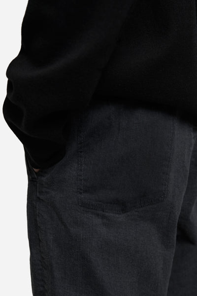 Miner Folded Trouser Toil Grey Wash