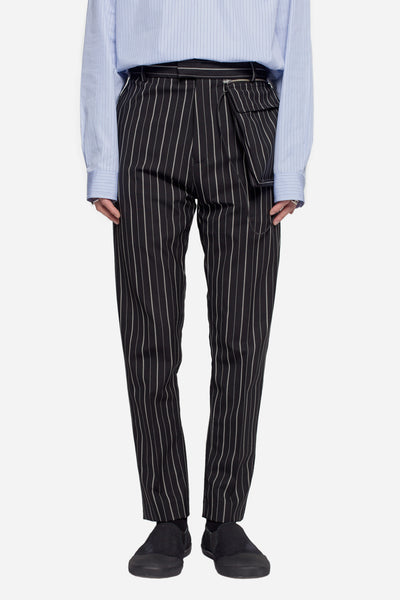 CMMN SWDN - Stetson Tapered Trousers Pinstripe