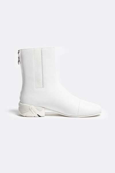 RAF SIMONS (RUNNER) - Solaris-2 High Leather White