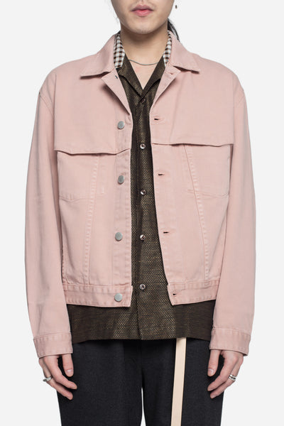 CMMN SWDN - Brody Denim Jacket Dusty Pink