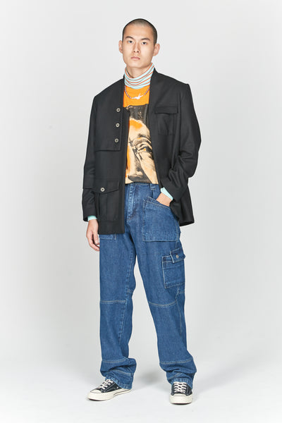 Viktor Denim Blue 31 Worker Trouser