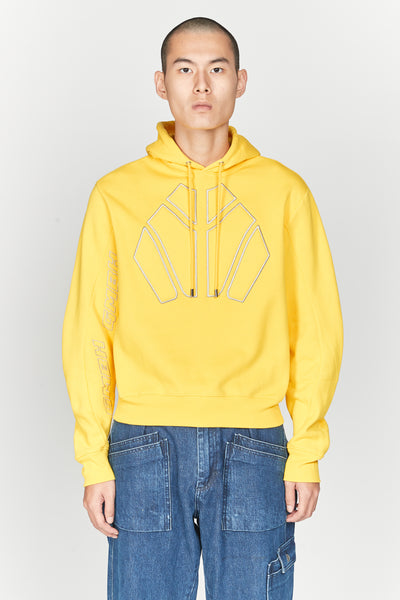 GmbH - Dag Sweatshirt Fleece Yellow 51 Hoodie