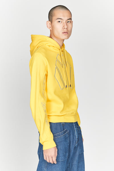 Dag Sweatshirt Fleece Yellow 51 Hoodie