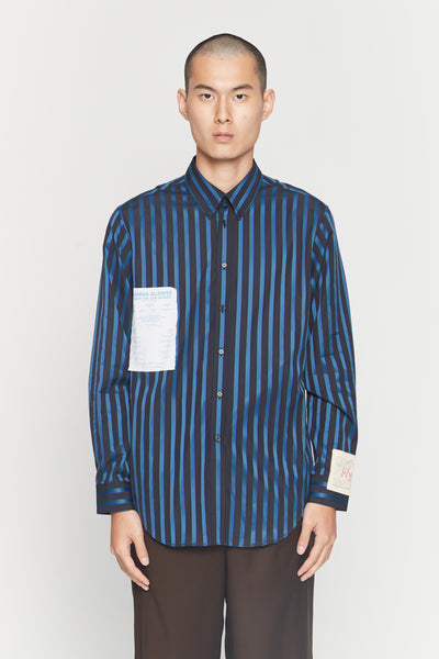 Martine Rose - Flyer Shirt BGB Stripe