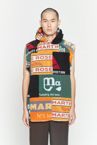 Martine Rose - Beermat Sleeveless Hoodie