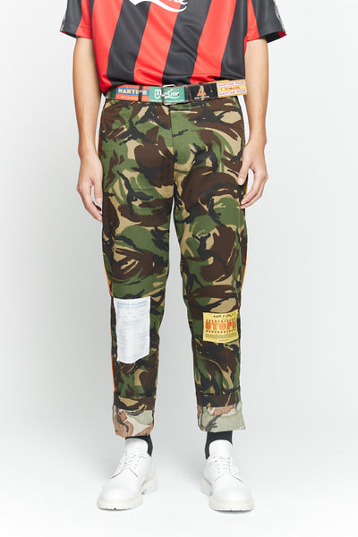 Martine Rose - Camo Trouser Green