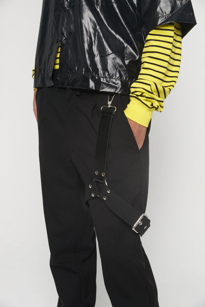 Bondage Suit Pant Black