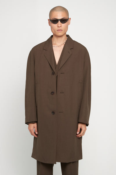 Lemaire - Chesterfield Suit Coat Coffee