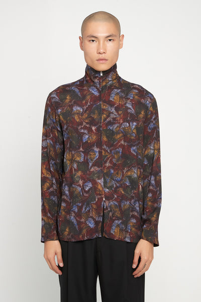 Lemaire - Zipped Shirt Multicolor