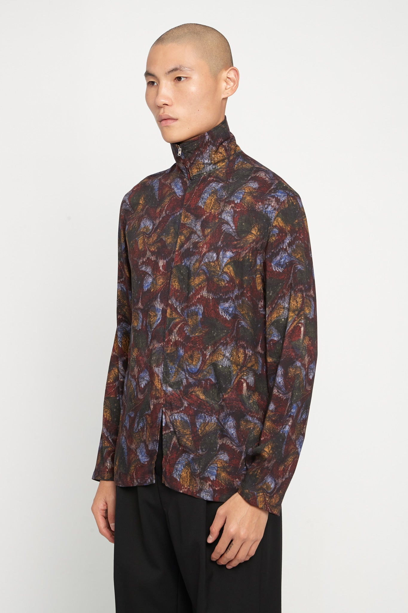 Zipped Shirt Multicolor