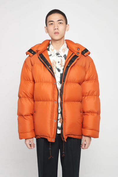 Très Bien - Crescent Down Works Puffer Orange
