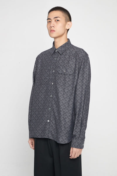 Très Bien - Work Shirt Jacquard Black