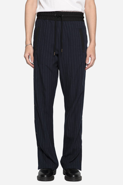 palm angels - Open Side Track Pants Pinstripe