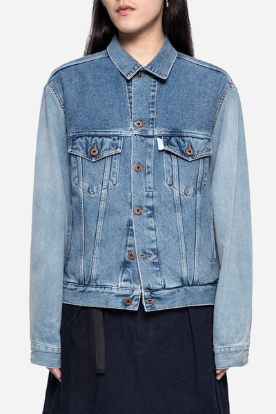 Off-White - Multicolor Denim Jacket