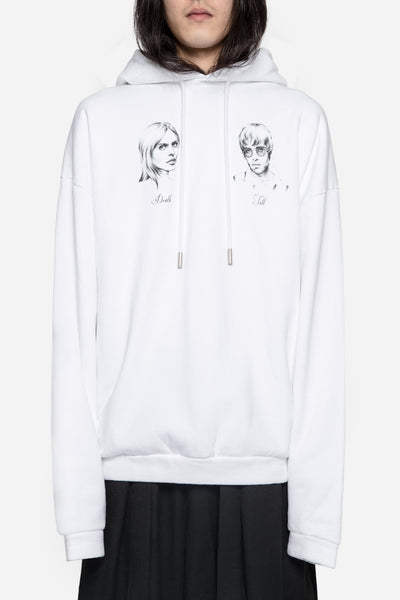 Off-White - Till Death White Hoodie