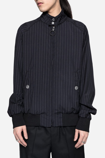 Off-White - Pinstripe Fitted Jacket