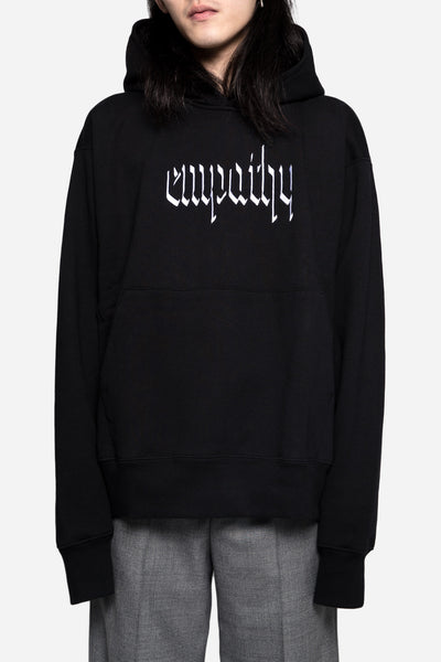 Resort Corps - Empathy Embroidered Hoodie Black
