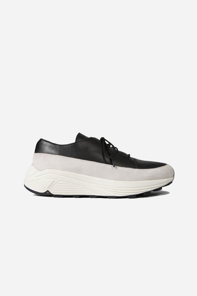 Song for the mute - Low Top Lace Up Sneaker Black/White