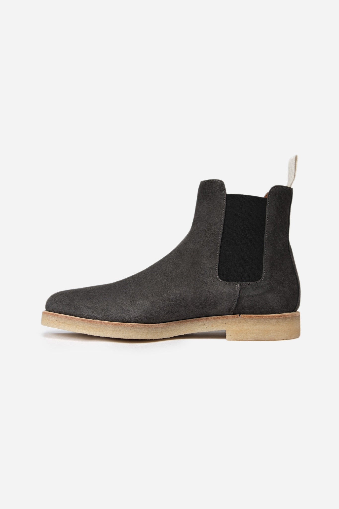 Chelsea Boot Suede Washed Black 0514