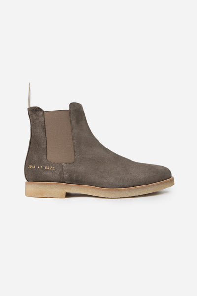 common projects - Chelsea Boot Suede Warm Grey 5472