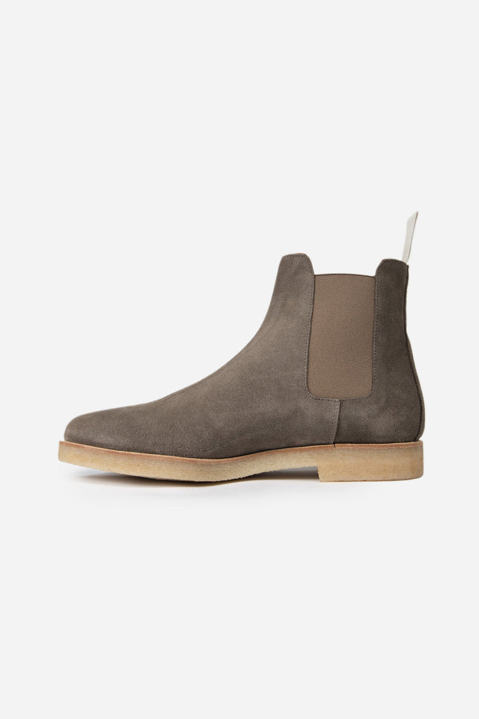 Chelsea Boot Suede Warm Grey 5472