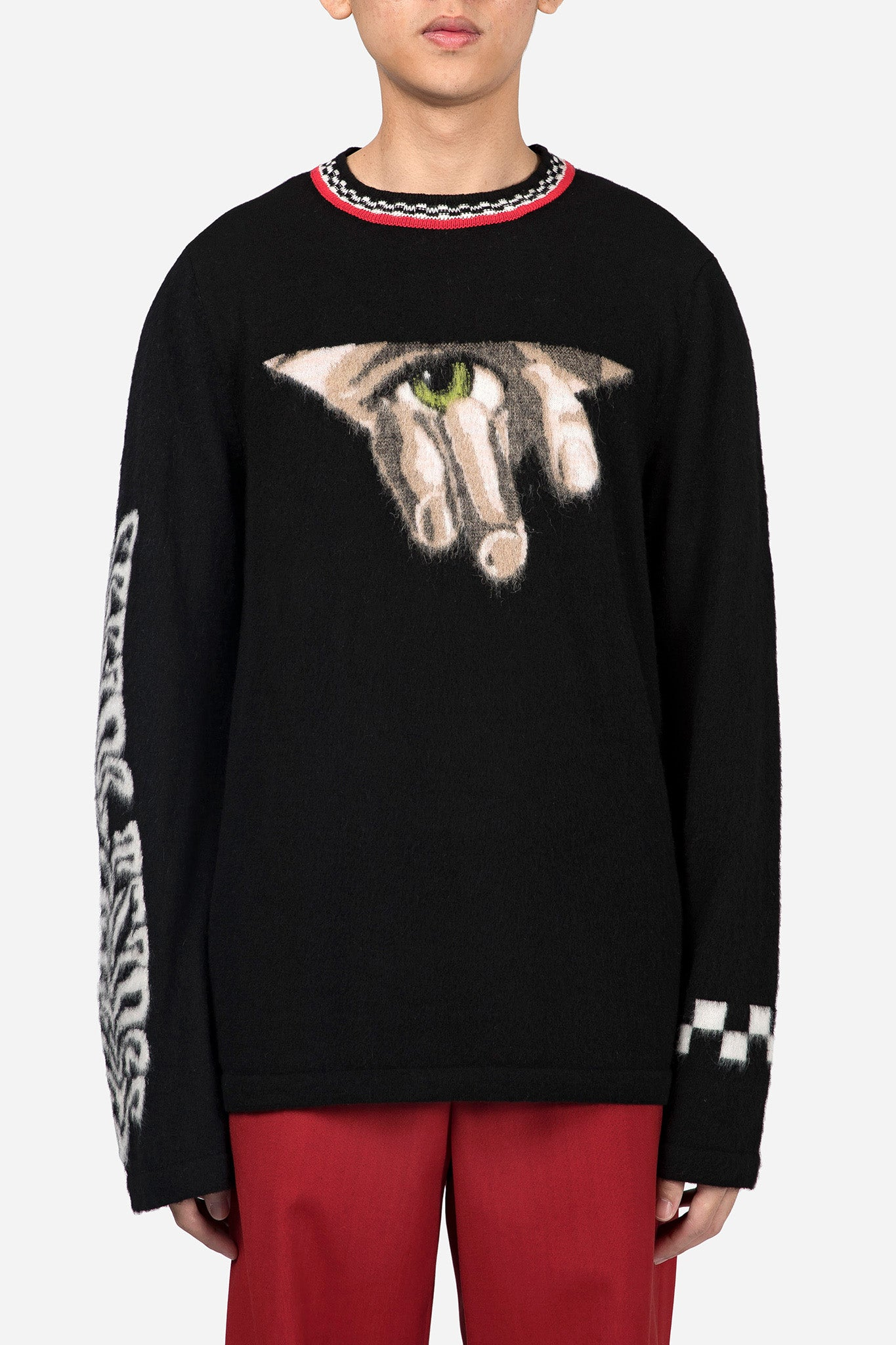 038ecf337caf Seeing Things Pullover Black Multicolor - Off-White