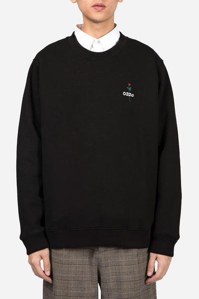 032c - Don't Dream It's Over Sweatshirt Black