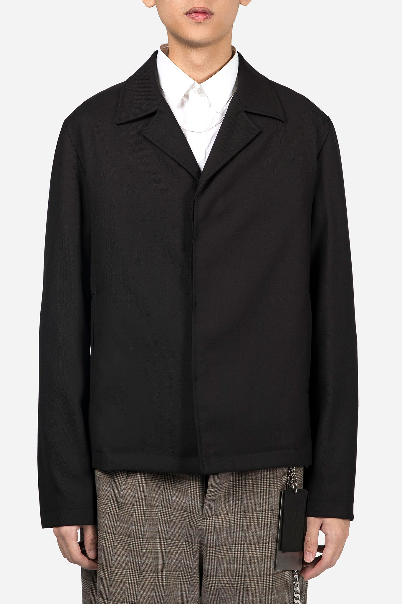 Button-UP Jacket Black