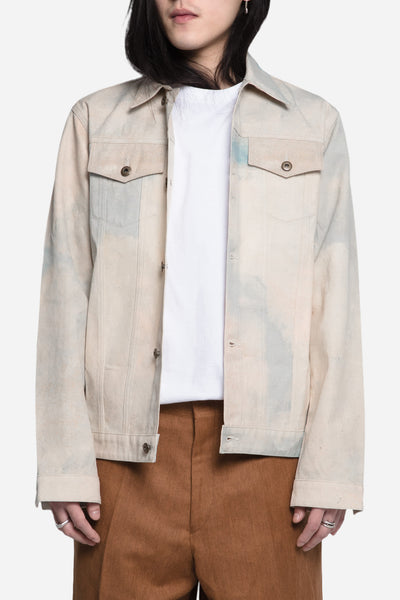 Matthew Miller - Renton Denim Jacket Print