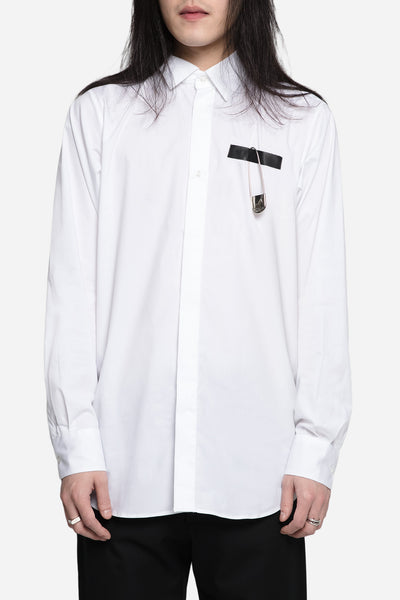 Matthew Miller - Newman Pin White Shirt