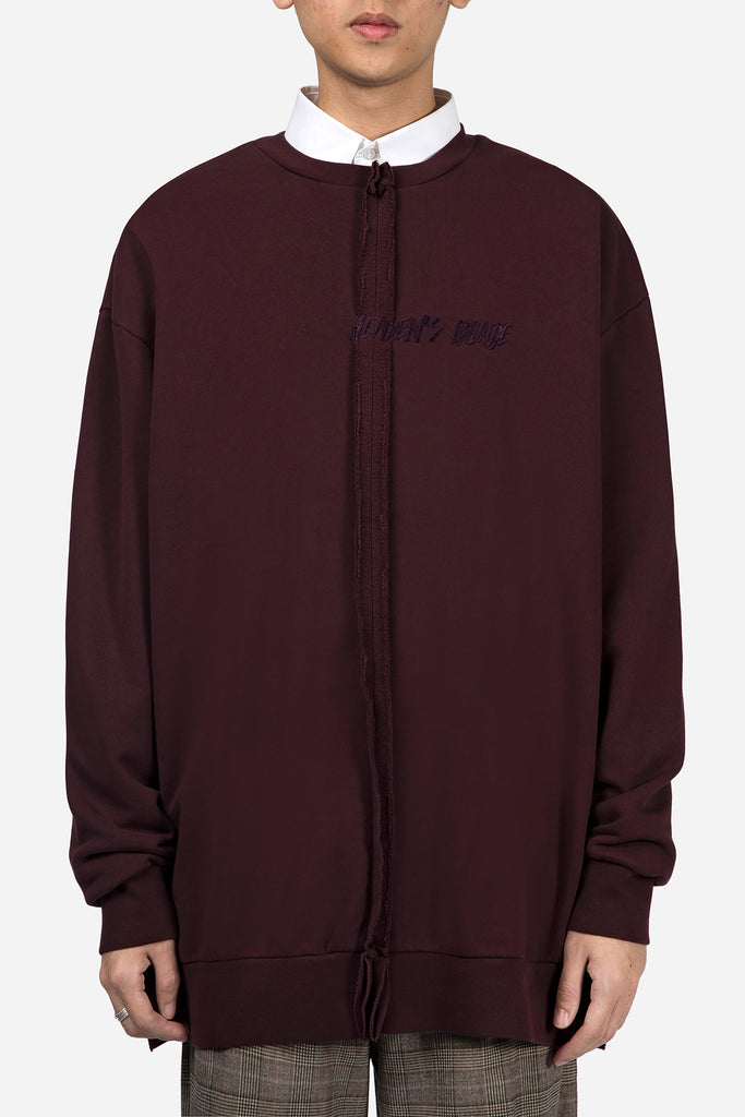 Heaven's Blade Sweatshirt Dark Purple